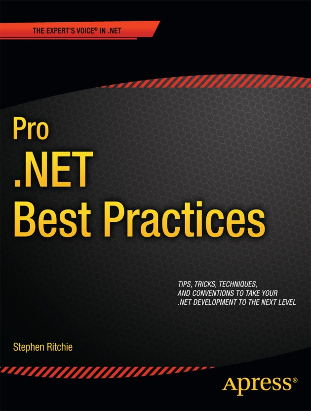 Cover of the book Pro .NET Best Practices