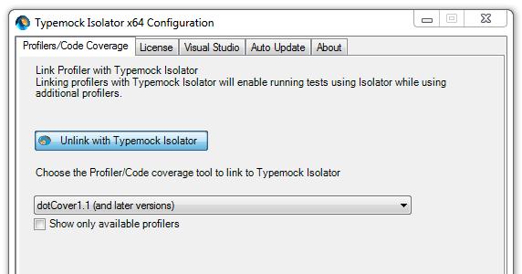 TypeMock Isolator