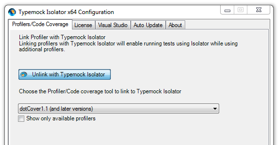 TypeMock Isolator